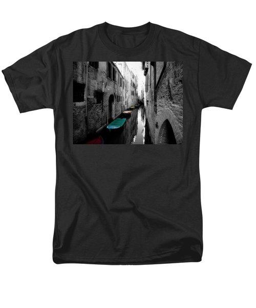 L'aqua Magica Men's T-Shirt  (Regular Fit)