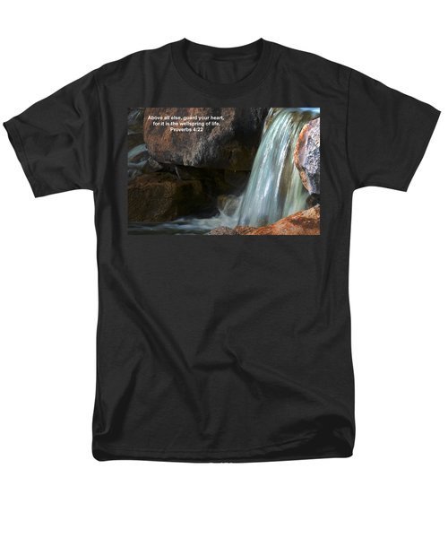 Life's Reflections Men's T-Shirt  (Regular Fit) by Deb Halloran
