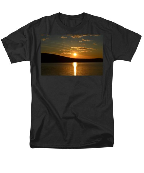 Men's T-Shirt  (Regular Fit) featuring the photograph Maine Sunset by James Petersen