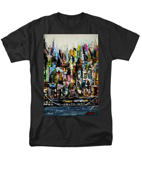Manhattan Morning Men's T-Shirt  (Regular Fit)