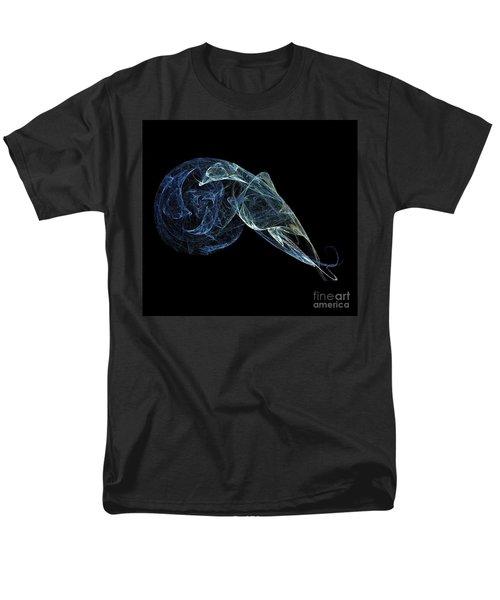 Men's T-Shirt  (Regular Fit) featuring the digital art Moonlit Goose by Sara  Raber