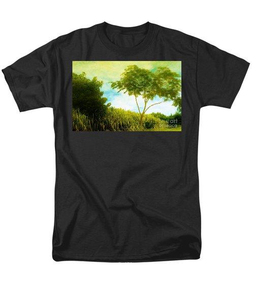 Ode To Monet Men's T-Shirt  (Regular Fit) by Amar Sheow