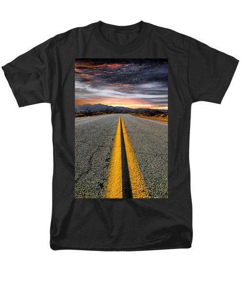 On Our Way  Men's T-Shirt  (Regular Fit) by Ryan Weddle