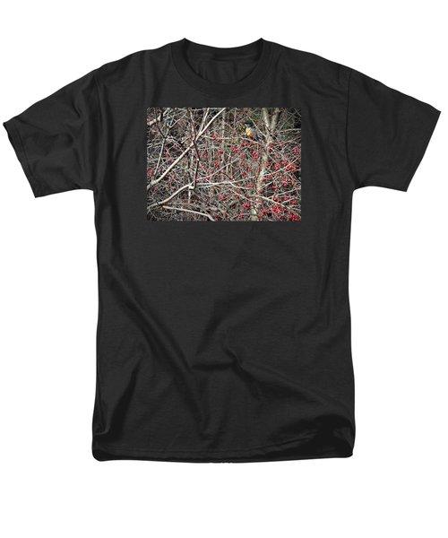 Men's T-Shirt  (Regular Fit) featuring the photograph Robin by Joy Nichols