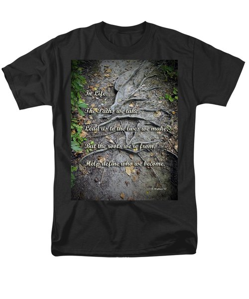 Roots Men's T-Shirt  (Regular Fit) by Brian Wallace