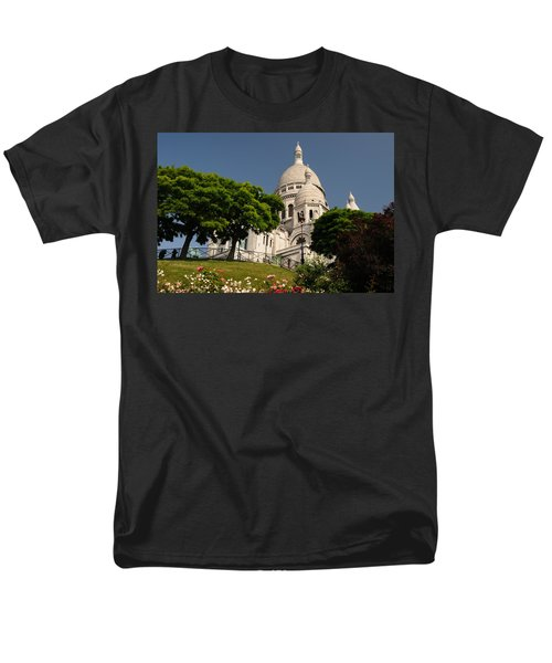 Men's T-Shirt  (Regular Fit) featuring the photograph Sacre Coeur by Jeremy Voisey