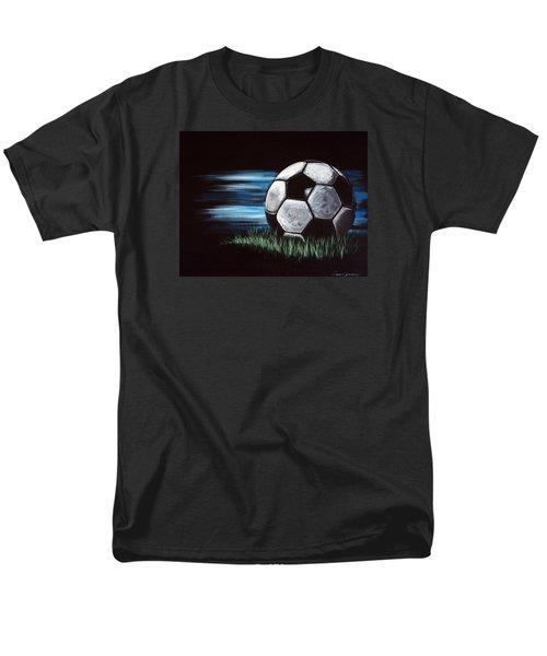 Soccer Ball Men's T-Shirt  (Regular Fit) by Dani Abbott