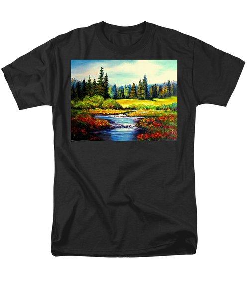 Springtime Men's T-Shirt  (Regular Fit) by Hazel Holland