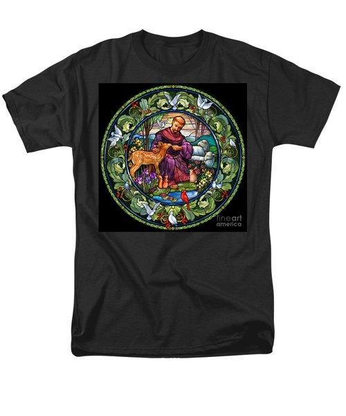 St. Francis Of Assisi Men's T-Shirt  (Regular Fit)