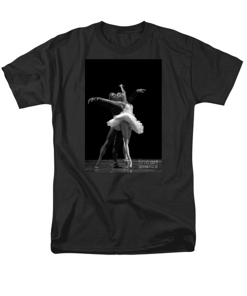 Swan Lake  White Adagio  Russia 3 Men's T-Shirt  (Regular Fit) by Clare Bambers