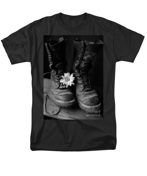 Sweat And Fire Worn Men's T-Shirt  (Regular Fit) by Kerri Mortenson