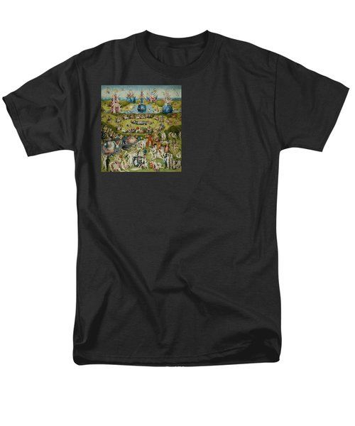 The Garden Of Earthly Delights Men's T-Shirt  (Regular Fit) by Hieronymus Bosch