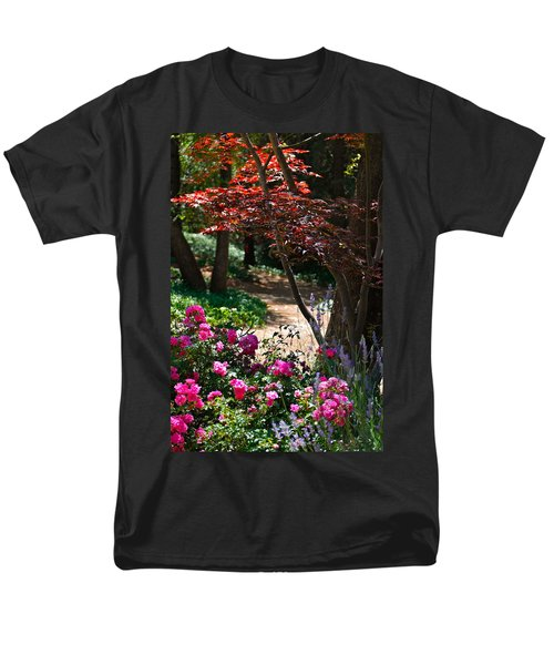 The Garden Path Men's T-Shirt  (Regular Fit) by Michele Myers