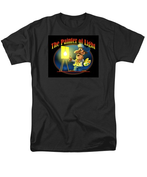 Men's T-Shirt  (Regular Fit) featuring the digital art The Painter Of Light by Scott Ross
