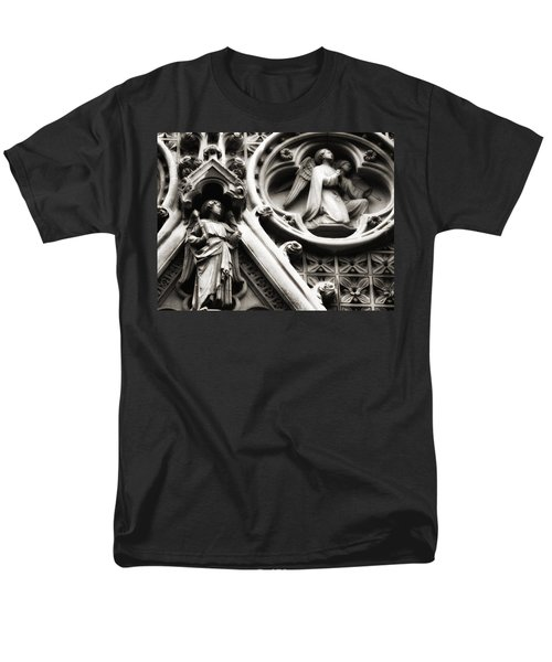 Men's T-Shirt  (Regular Fit) featuring the photograph Truro Cathedral by Rachel Mirror