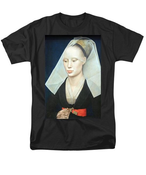 Men's T-Shirt  (Regular Fit) featuring the photograph Van Der Weyden's Portrait Of A Lady by Cora Wandel