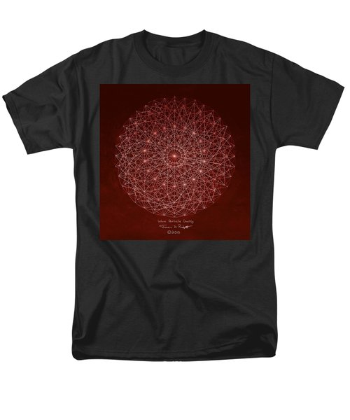 Wave Particle Duality Men's T-Shirt  (Regular Fit) by Jason Padgett