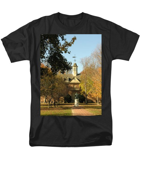 William And Mary College Men's T-Shirt  (Regular Fit) by Jacqueline M Lewis