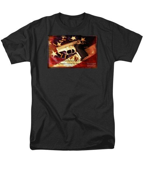 2nd Amendment Men's T-Shirt  (Regular Fit) by Bob Hislop