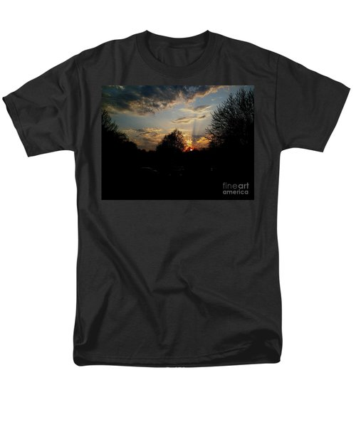 Beauty In The Sky Men's T-Shirt  (Regular Fit) by Kelly Awad