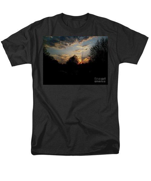 Beauty In The Sky Men's T-Shirt  (Regular Fit)
