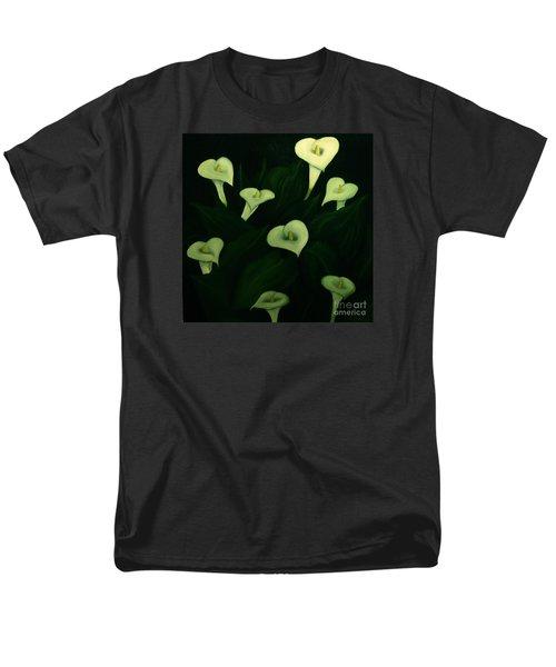 Calla Lilies Men's T-Shirt  (Regular Fit) by John Stuart Webbstock