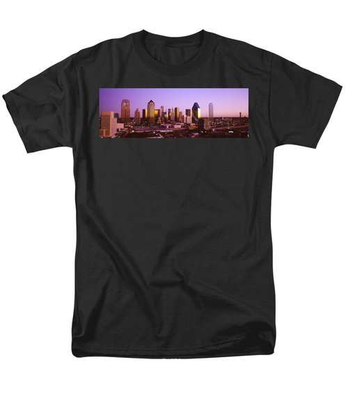 Dallas, Texas, Usa Men's T-Shirt  (Regular Fit) by Panoramic Images