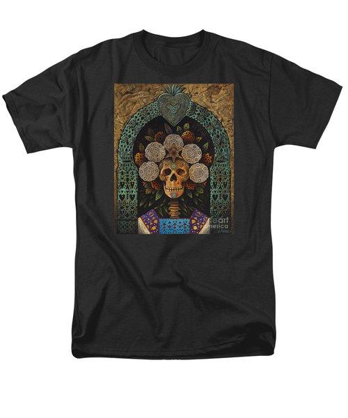 Dia De Muertos Madonna Men's T-Shirt  (Regular Fit)