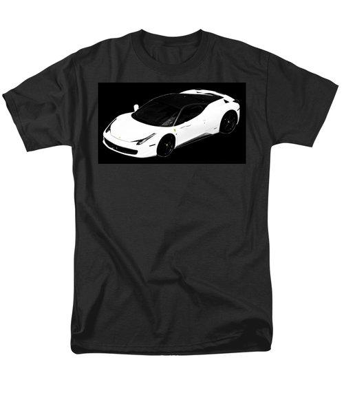 Ferrari Men's T-Shirt  (Regular Fit) by J Anthony