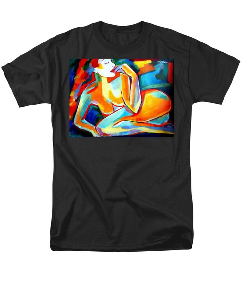Men's T-Shirt  (Regular Fit) featuring the painting Repose by Helena Wierzbicki