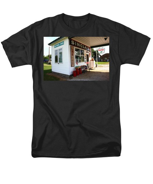 Route 66 Filling Station Men's T-Shirt  (Regular Fit) by Frank Romeo