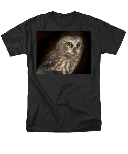 Saw-whet Men's T-Shirt  (Regular Fit) by Jean Noren
