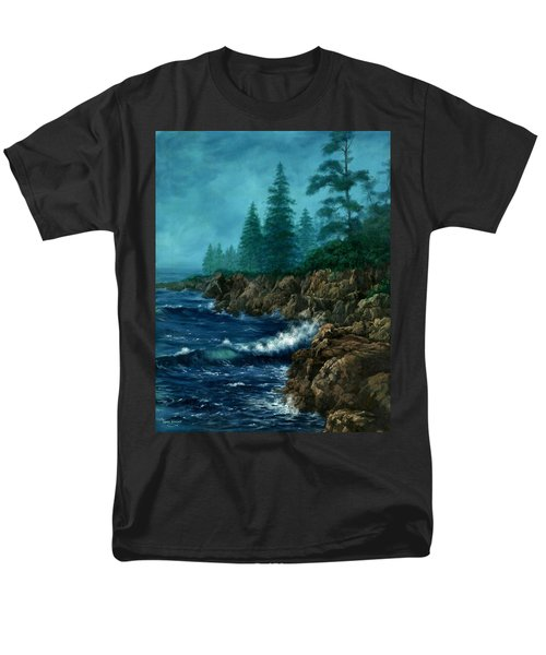 Men's T-Shirt  (Regular Fit) featuring the painting Solitude by Lynne Wright