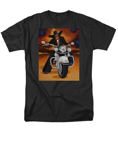 Steel Pony Men's T-Shirt  (Regular Fit) by Lance Headlee
