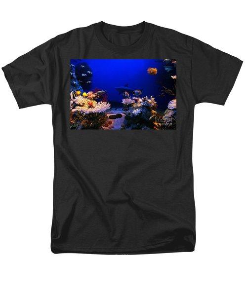 Underwater Scene Men's T-Shirt  (Regular Fit) by Michal Bednarek