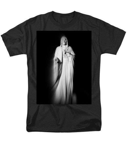 Views From Inside St Entienne Du Mont Church In Paris France Men's T-Shirt  (Regular Fit) by Richard Rosenshein