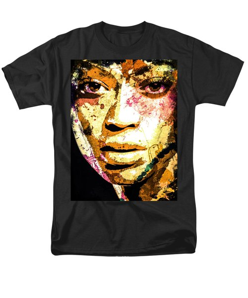 Beyonce Men's T-Shirt  (Regular Fit) by Svelby Art