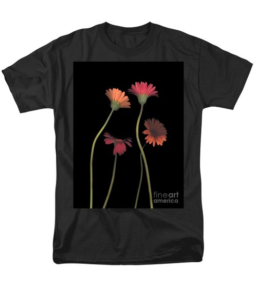 4daisies On Stems Men's T-Shirt  (Regular Fit) by Heather Kirk