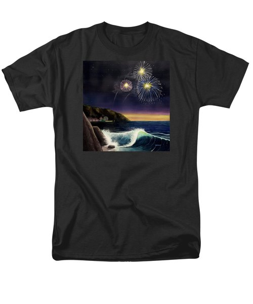 4th On The Shore Men's T-Shirt  (Regular Fit) by Jack Malloch