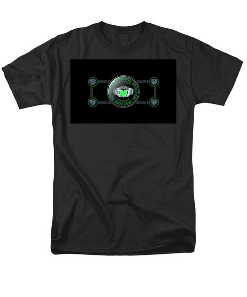 Celtic Claddagh Ring  Men's T-Shirt  (Regular Fit)