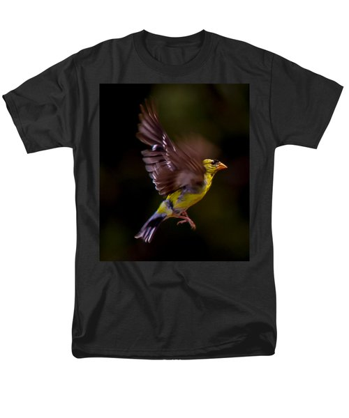 Gold Finch Men's T-Shirt  (Regular Fit) by Brian Williamson