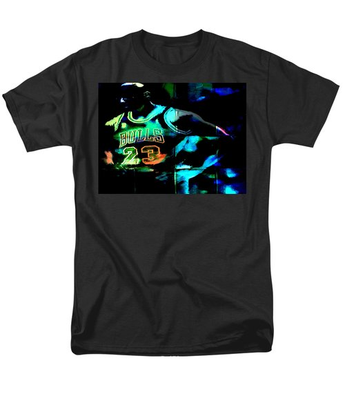 Men's T-Shirt  (Regular Fit) featuring the digital art 5 Seconds Left by Brian Reaves