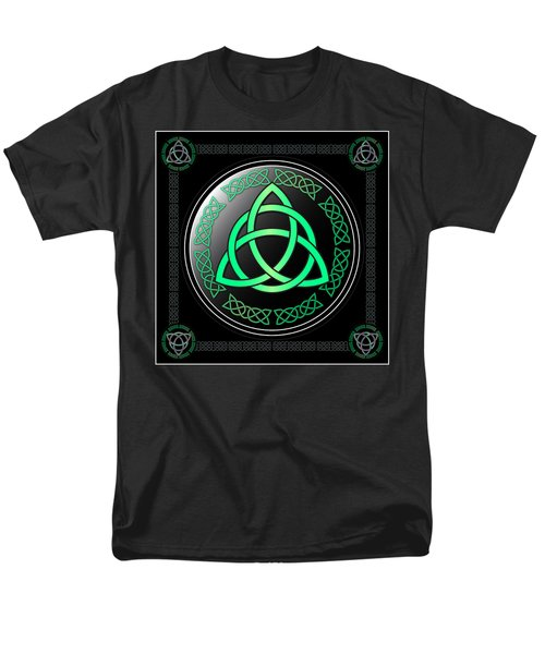 Triquetra Men's T-Shirt  (Regular Fit)
