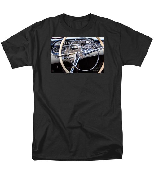 58 Cadillac Dashboard Men's T-Shirt  (Regular Fit) by Jerry Fornarotto