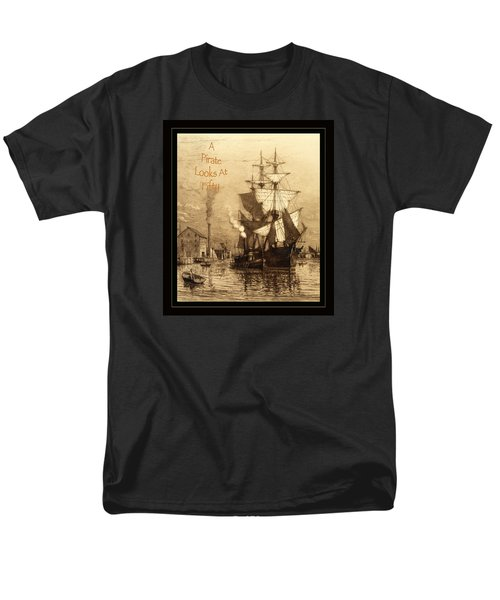A Pirate Looks At Fifty Men's T-Shirt  (Regular Fit)