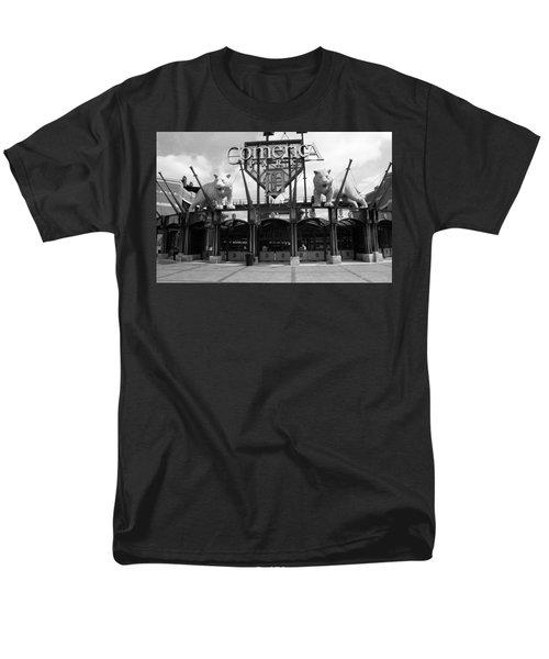 Comerica Park - Detroit Tigers Men's T-Shirt  (Regular Fit) by Frank Romeo