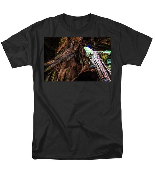 Green Grotto Caves Men's T-Shirt  (Regular Fit) by Bill Howard