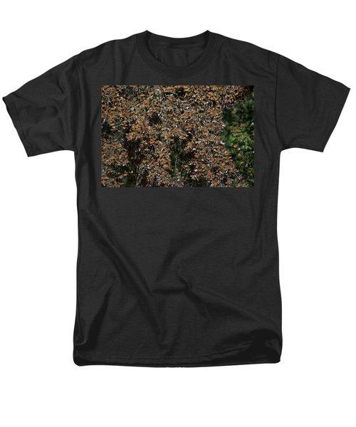 Monarch Butterflies Men's T-Shirt  (Regular Fit) by Carol Ailles
