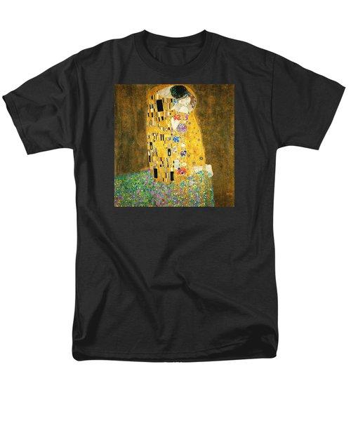 The Kiss Men's T-Shirt  (Regular Fit) by Gustav Klimt