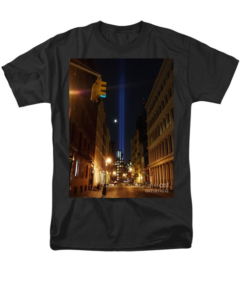 9-11-2013 Nyc Men's T-Shirt  (Regular Fit) by Jean luc Comperat